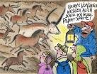 Höhlenzeichnung TV